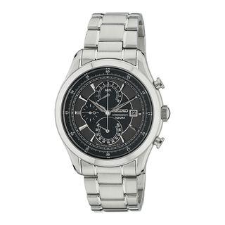 Seiko Men's SPC167P1 Chronograph Black Watch