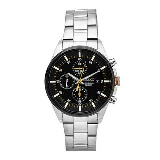 Seiko Men's SNDC85P1 Sports Black Watch