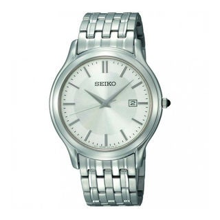 Seiko Men's SKK703P1 Precisely Silver Watch