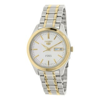 Seiko Men's SNKM48J1 5 White Watch