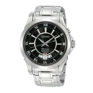 Seiko Men's SNQ103P1 Premier Black Watch