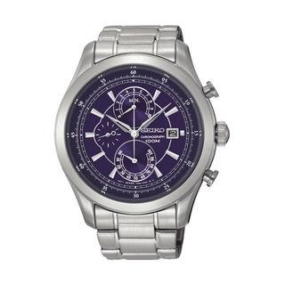 Seiko Men's SPC165P1 Chronograph Blue Watch