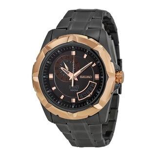 Seiko Men's SSA228K1 Lord Black Watch