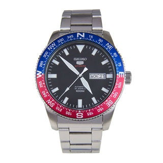 Seiko Men's SRP661K1 5 Sports Black Watch