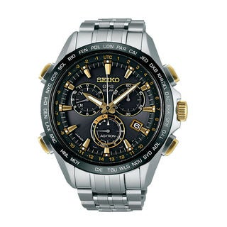 Seiko Men's SSE007J1 Astron Black Watch