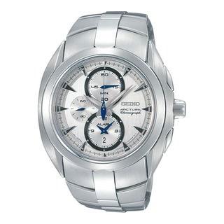 Seiko Men's SNAC15P1 Arctura Silver Watch
