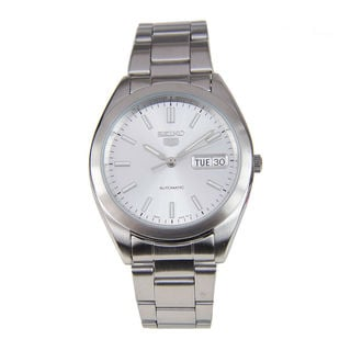 Seiko Men's SNX993K1 5 Silver Watch
