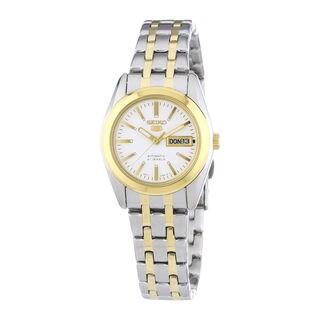 Seiko Women's SUT108P1 Solar White Watch