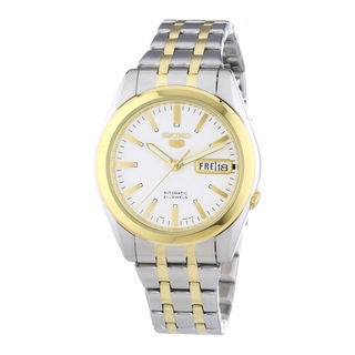 Seiko Men's SNKG98K1 5 White Watch