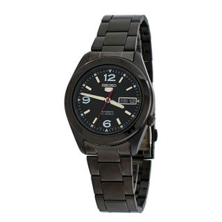 Seiko Men's SNKM79J1 5 Black Watch