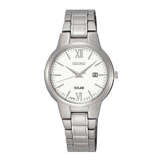 Seiko Women's SUT227P1 Solar White Watch