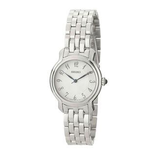 Seiko Women's SRZ391P1 Classic Silver Watch