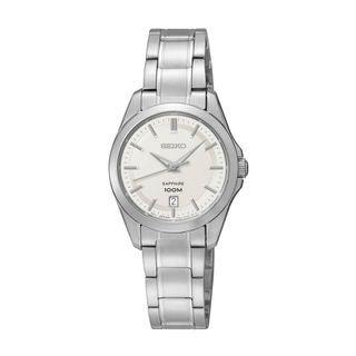 Seiko Women's SXDF55P1 Classic White Watch