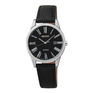 Seiko Women's SXDG31P1 Dress Black Watch