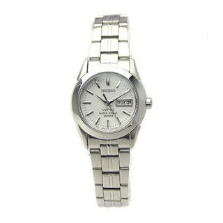 Seiko Women's SXA097P1 Ladies' Line White Watch