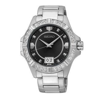 Seiko Women's SUR807P1 Lord Black Watch