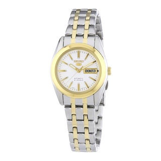 Seiko Women's SYMH88K1 5 White Watch