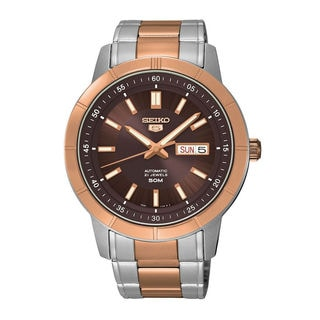 Seiko Men's SNKN60K1 5 Brown Watch