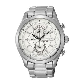 Seiko Men's SPC163P1 Chronograph Mother of Pearl Watch