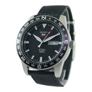 Seiko Men's SRP667K1 5 Black Watch