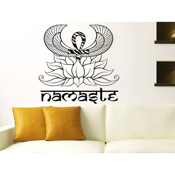 Lotus Flower Home Decor Design Interior Wall Art Sticker Decal