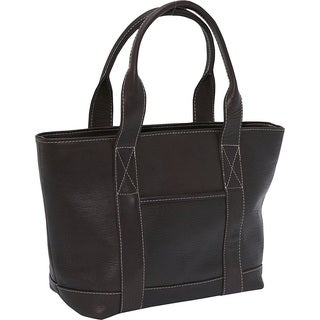 Le Donne Leather Double Strap Small Pocket Bag