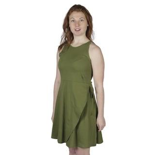 AtoZ Women's Sleeveless A-line Dress