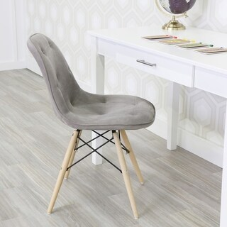 Upholstered Eames Dining Chair (Set of 2)