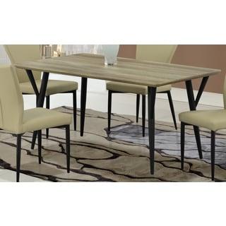 Global Furniture Khaki Wood Grain Dining Table