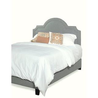 Progressive Georgia Upholstered Scalloped HB/Bed
