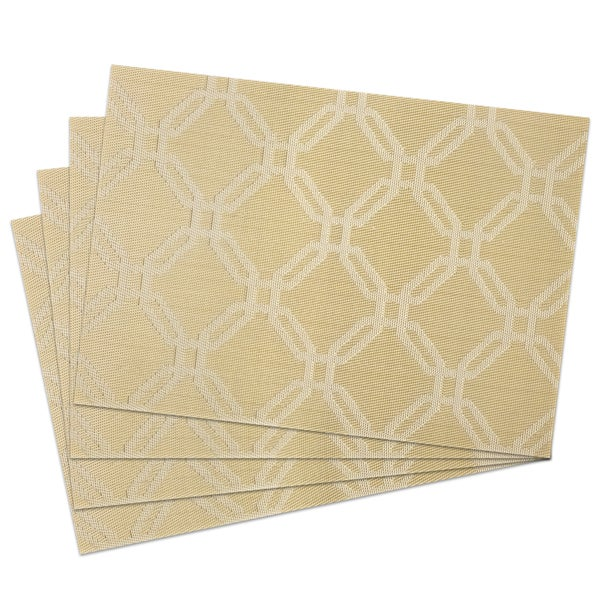 Copper Links Woven Placemats (Pack of 4)