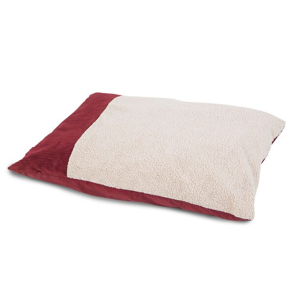 Aspen Pet Self-warming Knife-edge Pillow Dog Bed
