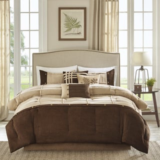 Madison Park Calvert Grey 7-piece Comforter Set