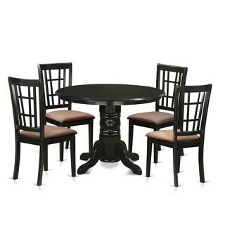 SHNI5-BLK 5-piece Dining Table Set