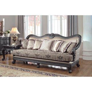 Florence Traditional Upholstered Sofa