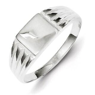 Versil Sterling Silver Signet Ring