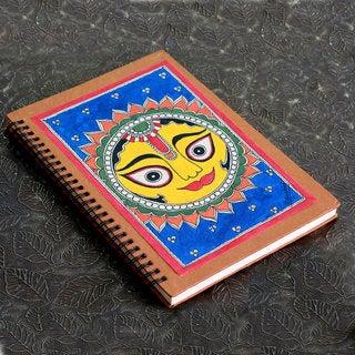 Handmade Paper 'Surya the Sun' Journal (India)