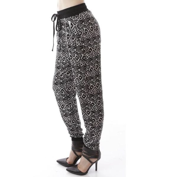 Soho Women Printed Jogger Casual Pants