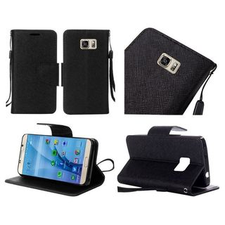 Insten Leather Case Cover Lanyard with Stand For Samsung Galaxy S7