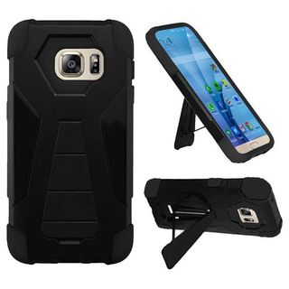 Insten Hard PC/ Silicone Dual Layer Hybrid Case Cover with Stand For Samsung Galaxy S7