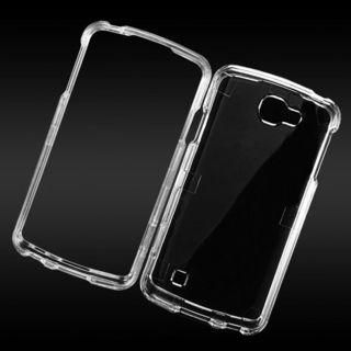 Insten Clear Hard Snap-on Crystal Case Cover For LG Optimus Zone 3/ Spree