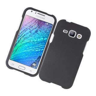 Insten Hard Snap-on Rubberized Matte Case Cover For Samsung Galaxy J1