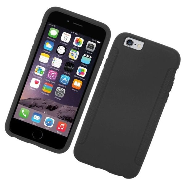 Insten Soft Silicone Skin Rubber Case Cover For Apple iPhone 6/ 6s