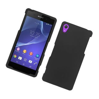 Insten Hard Snap-on Rubberized Matte Case Cover For Sony Xperia Z2