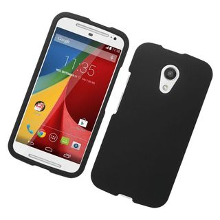 Insten Hard Snap-on Rubberized Matte Case Cover For Motorola Moto G (2nd Gen)