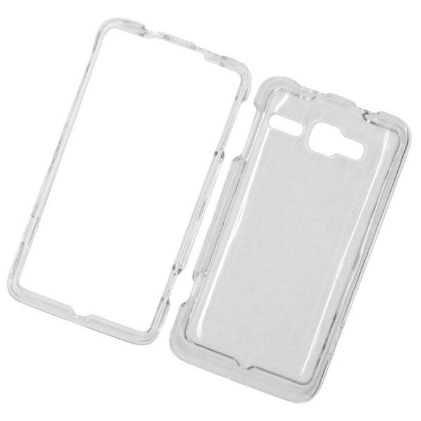 Insten Clear Hard Snap-on Crystal Case Cover For Alcatel One Touch Sonic