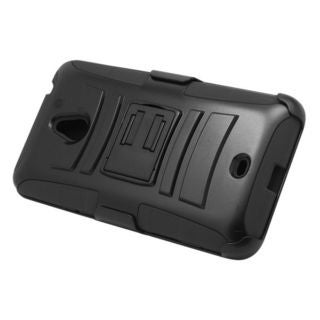 Insten Hard PC/ Silicone Dual Layer Hybrid Case Cover with Stand/ Holster For Nokia Lumia 1320