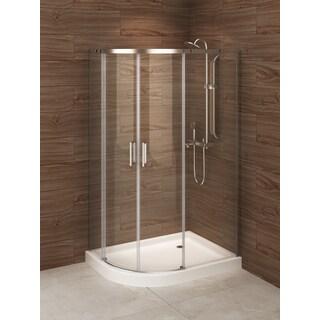 Madrid 48-inch x 36-inch Left-opening Asymmetric Corner Shower Stall