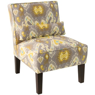 Skyline Furniture Multicolored Upholstered Armless Chair