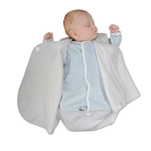 Candide Grey Luxury Lightweight Baby Wrap